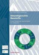 Umweltgerechte Baustoffe  PDF