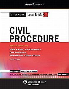 Civil Procedure Book
