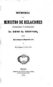 Memoria de la Secretaría de Relaciones Exteriores