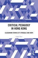 Critical Pedagogy in Hong Kong PDF