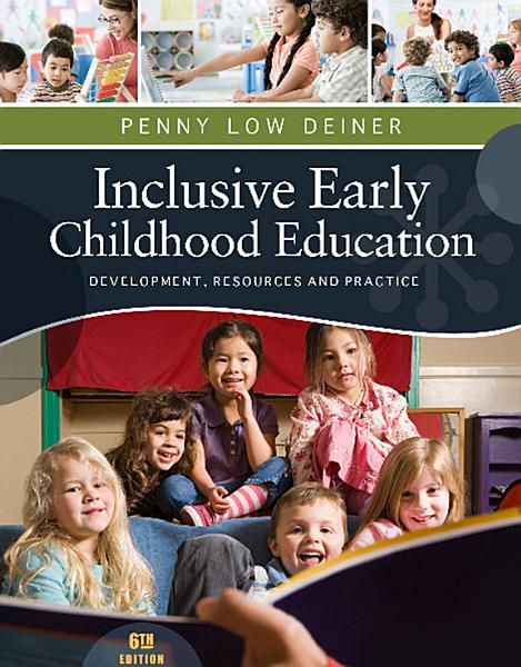 Inclusive Early Childhood Education  Development  Resources  and Practice PDF