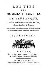 Oeuvres de Plutarque: Volume2