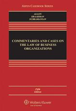Commentaries and Cases on the Law of Business Organization PDF