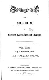The Museum of Foreign Literature, Science and Art: Volume 13