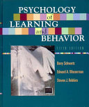 Psychology Of Learning And Behavior Book PDF