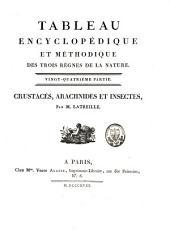Tableau encyclopédique et méthodique des trois règnes de la nature: crustacés, arachnides et insectes, [planches], Partie24