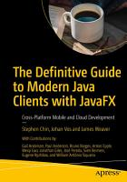 The Definitive Guide to Modern Java Clients with JavaFX PDF