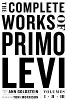 The Complete Works of Primo Levi PDF