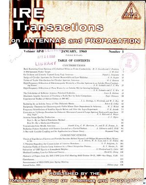 IRE Transactions on Antennas and Propagation