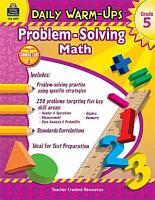 Daily Warm Ups  Problem Solving Math Grade 5 PDF