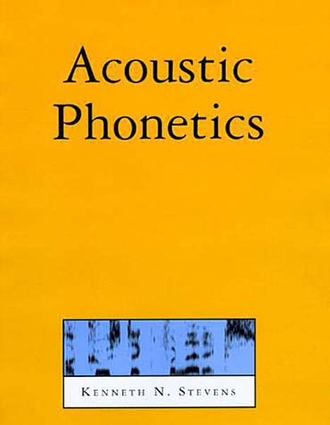 Acoustic Phonetics PDF