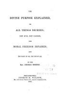 The Divine Purpose Explained PDF