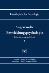 Themenbereich C: Theorie und Forschung / Entwicklungspsychologie / Angewandte Entwicklungspsychologie