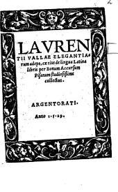 Elegantiarum adeps