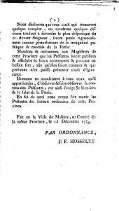 Le peuple de la province de Malines, par l'organe de ses représentants