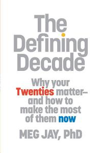 The Defining Decade Book