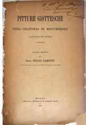 Pitture Giottesche nell' Oratorio di Mocchirolo a Lentate sul Seveso (Lombardia)