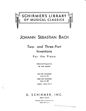 Two part inventions PDF