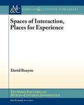 Spaces of Interaction, Places for Experience: Places for Experience