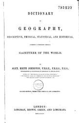 Dictionary Of Geography Book PDF