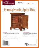 Fine Woodworking's Pennsylvania Spice Box Plan