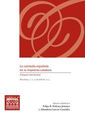 La comedia española en la imprenta catalana