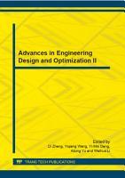 Advances in Engineering Design and Optimization II PDF
