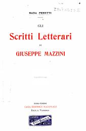 Gli scritti letterari di Giuseppe Mazzini
