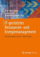 IT gest  tztes Ressourcen  und Energiemanagement PDF