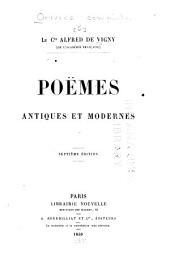 Poëmes antiques et modernes