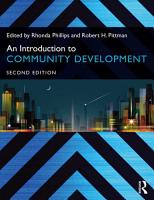 An Introduction to Community Development PDF