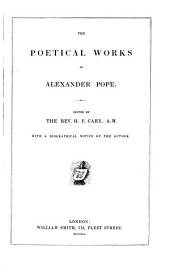 The poetical Works of Alex. Pope