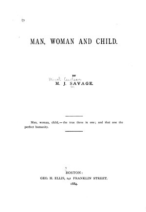 Man  Woman and Child PDF