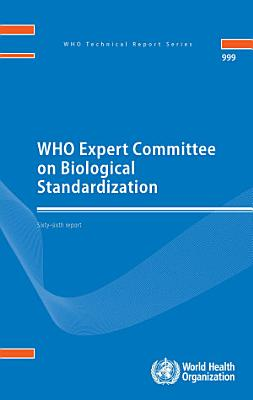 WHO Expert Committee on Biological Standardization PDF