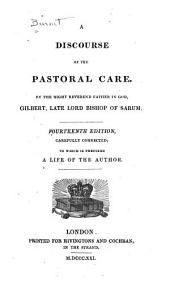 A Discourse of the Pastoral Care