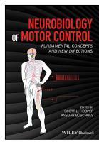 Neurobiology of Motor Control PDF