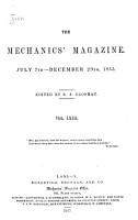 The Mechanics  Magazine PDF