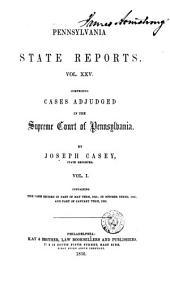 Pennsylvania State Reports: Volume 25