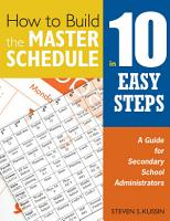 How to Build the Master Schedule in 10 Easy Steps PDF
