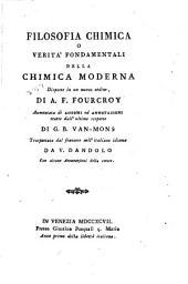 Filosofia chimica: o, Verità fondamentali della chimica moderna, disposte in un nuovo ordine