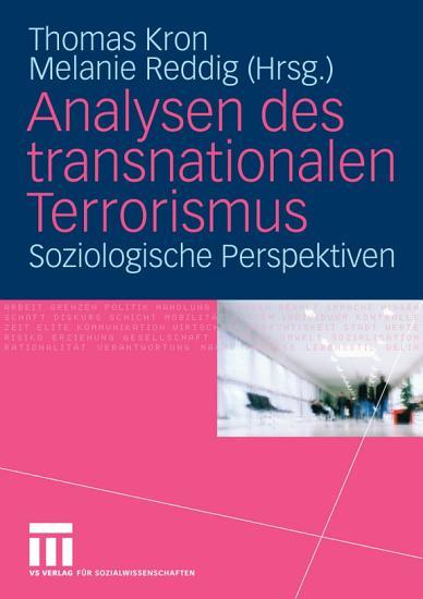 Analysen des transnationalen Terrorismus PDF