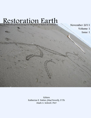 Restoration Earth  Vol 1 1   November 2011 PDF