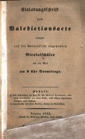 Über einige handschriften von Hans Sachs, nebst einigen ungedruckten gedichten dieses dichters ...