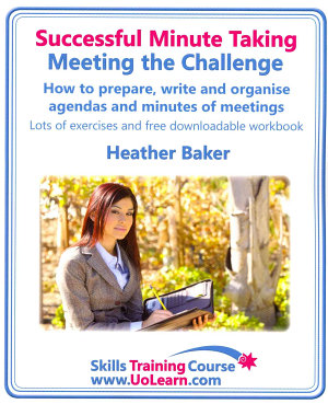 Successful Minute Taking   Meeting the Challenge