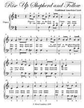 Rise Up Shepherd and Follow - Easy Piano Sheet Music