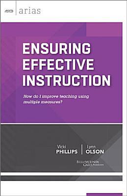 Ensuring Effective Instruction