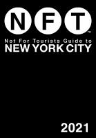 Not For Tourists Guide to New York City 2021 PDF