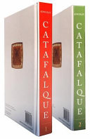 Catafalque  2 Volume Set  Book