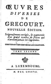 Oeuvres diverses: Tomes 2 (1787)