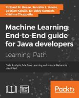 Machine Learning  End to End guide for Java developers PDF